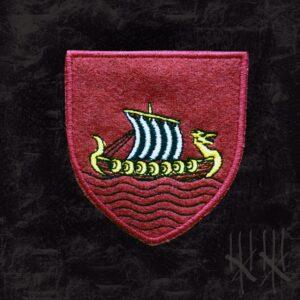 Naszywka haftowana herb Skellige