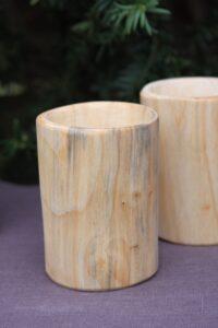 kubek drewniany lipa